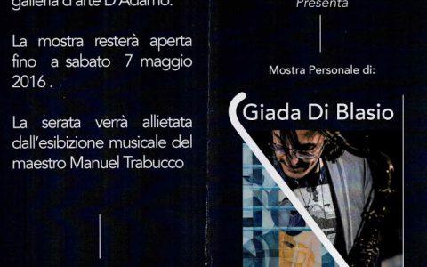 Giada Di Blasio – Nicola Falcone: in Mostra